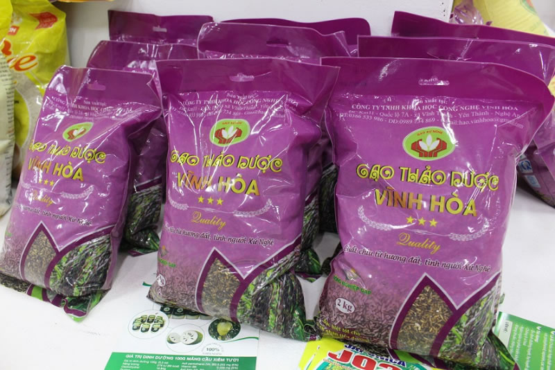 Gạo thảo dược Vĩnh Hòa